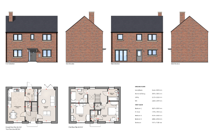 5 Tudor Rose Grove Property Plan
